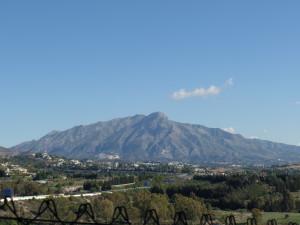 Uitzicht vanaf Lomas del Marques